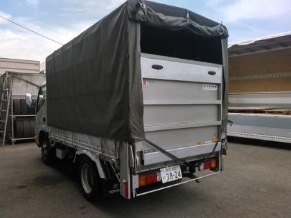 1.5t幌トラック パワーゲート付き(リフト付き)