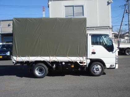 2t 平トラック 幌付き